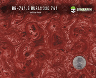 Burlwood 741 Hydrographics Pattern Film Buy Dipping Big Brain Graphics Seller White Base Quarter Reference