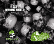 Demonic Skulls (100 CM)