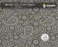 Paisley Girl Girly Woman Subtle Green Detailed Hydrographics Film Buy Big Brain Graphics White Base Quarter