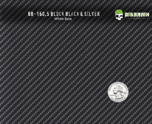 Block Carbon Black Silver 160 Hydrographics Pattern Film Buy Dipping Big Brain Graphics Seller White Base Quarter Reference