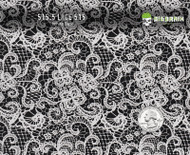 Lace Antique 515 Hydrographics Film Pattern Big Brain Graphics White Base Quarter Reference