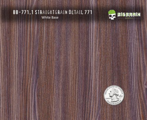 Straightgrain Detail Wood Woodgrain Hydrographics Pattern Film Big Brain Graphics White Base Quarter Reference