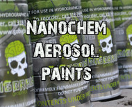 NanoChem Aerosols Hydrographics Paint - NEW DESIGN! 16 OZ!