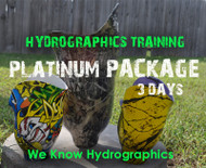 Hydrographics Best Training Big Brain Graphics Insane Detailed Dipping Water Transfer Printing Classes Sessions 3 Days