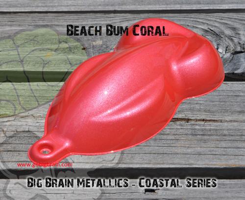 Beach Bum Coral Coastal Metallic Paint Paints Big Brain Graphics Ocean Coastal Series