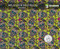 Sugar Skulls Yellow Small Abstract Muertes Day of Dead Hydrographics Film Big Brain Graphics White Base Quarter Reference