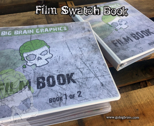 Big Brain Graphics Film Book Hydrographics Patterns Swatches Candies Colors Customer Service Buy Films Books Binders