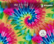 Tie Dye Colorful Hippy Hippie 60's Tied Dyed Hydrographics Pattern Film Big Brain Graphics Seller Buy Supplies White Base Quarter Reference