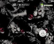 Werewolf Wild Wolves Hydrographics Film Supplier Big Brain Graphics USA Creepy Pattern Dip White Base Quarter Reference