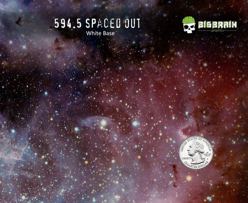 Spaced Out Galaxy Milky Way Space Cosmos Big Brain Graphics Hydrographics Film Supplies Buy White Base Quarter Reference