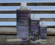 Glam Glamour Gloss High Gloss UV Durable Awesome Clear Coat Automotive Hydrographics Big Brain Coatings Graphics Trio Hardener Replacements