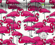 Flocka Flamingos Flock Flamingo Pink Animal Super Cute Woman Girl Hydrographics Print Water Transfer Printing Big Brain Graphics White Base Quarter Reference