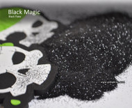 Black Magic Metal Flake Glitter Solvent Resistant Hydrographics Big Brain Coatings Graphics Automotive Clear Base Flat Pile of glitter