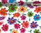Hippy Hippie Flowers Flower Hydrographics Pattern Film Big Brain Graphics White Base