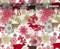 Fancy Deer Christmas Hydrographics Pattern Film Big Brain Graphics USA Seller Buy Film White Base