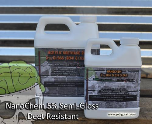 5 Percent Deet Resistant Nanochem Clear Coat Semi Gloss Big Brain Graphics Durable Clear Hunting Clear
