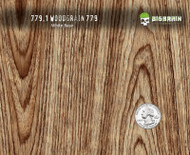 Woodgrain Wood Grain Straight Grain 779 Hydrographics Real Wood Look Big Brain Graphics Trusted Seller USA White Base Quarter Reference