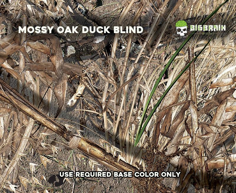 Mossy Oak Duck Blind Camo Big Brain Graphics