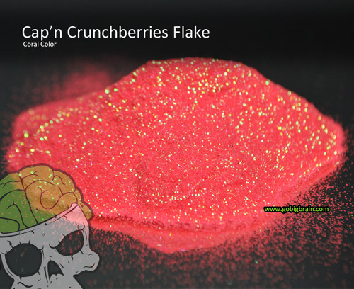 Capn Crunchberries Captain Coral Flake Flakes .008 Size Big Brain Graphics Automotive Solvent Resistant