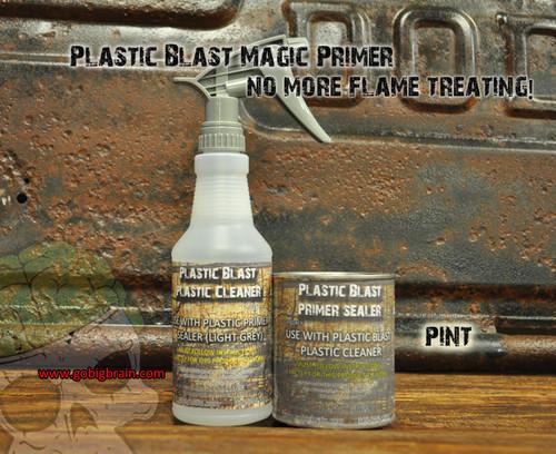 Plastic Prep Blast Plastic Treatment Cleaner Primer Big Brain Graphics Hydrographics Trusted Seller USA
