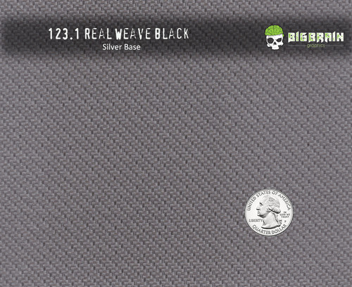 Real Weave Black Carbon Fiber High Color Hydrographics Film Pattern Big Brain Graphics Trusted Seller Buy Supplies USA Silver Base Quarter Reference