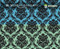 Black Clear Damask Classy Classic Pattern Hydrographics Dipping Girl Woman Teal Mint Base Big Brain Graphics