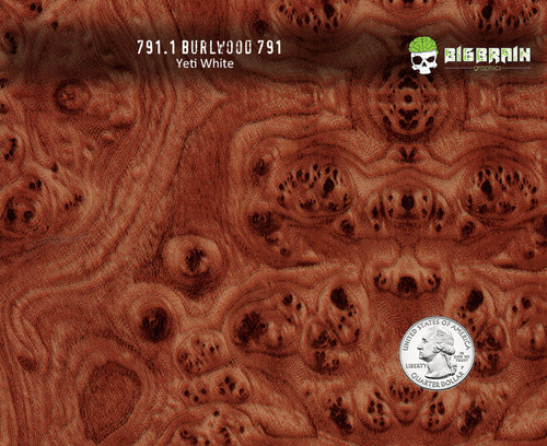 Burlwood Burl Fancy Wood High End Car Interior Kansas Hydrographics 207 Woodgrain Match Big Brain Graphics Hydrographics Pattern Trusted Seller Yeti White Base Quarter Reference