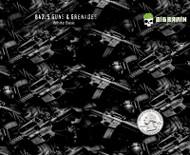 Guns Grenades Assault Rifle Wartime War Hydrographics Film Pattern Big Brain Graphics Trusted Seller Yeti White Base Quarter Reference