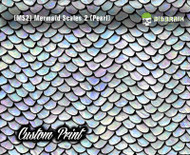 Mermaid Scales Rainbow Fish Scales (MS2A) Custom Hydrographics Film Print Big Brain Graphics Printing Custom Film Pastel