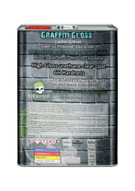Graffiti Gloss Gallon Complete Setup Highly UV Protected Automotive Clear Big Brain Automotive Gallon Quart Pint 6H Super Hard Clear