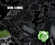 Devil's Divas Naughty Girl Sexy Chicks Girls Women Hydrographic Film Hydrographics Pattern Big Brain Graphics Galaxy Silver Base