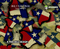 Texas Pride LoneStar State Flag Colorful Prideful Hydrographics Pattern Big Brain Graphics Mudjugs Design Desert Digital Beige Base