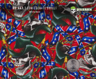 Confederate Flag Skulls Cowboy Barb Wire Big Brain Graphics Hydrographics Film Buy