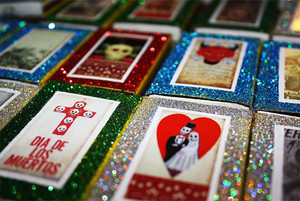Day of the Dead Matchbox Wedding Favors - Set of 100