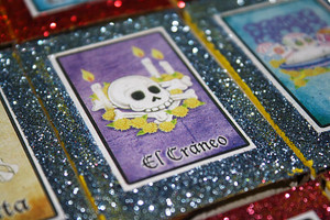 Mexican Wedding Favors Loteria Day of the Dead - Set of 100