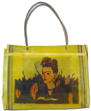 Mexican Market Tote - Frida Kahlo