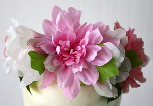 Garden Style Flower Crown Bridal Bridesmaid Mexican Wedding Flowers