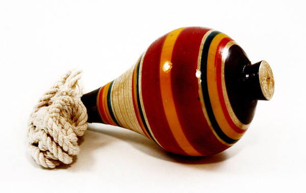 Mexican Spinning Wooden Top Trompo