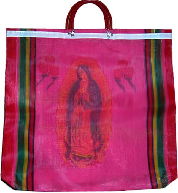 Virgen de Guadalupe Mexican Mercado Bag