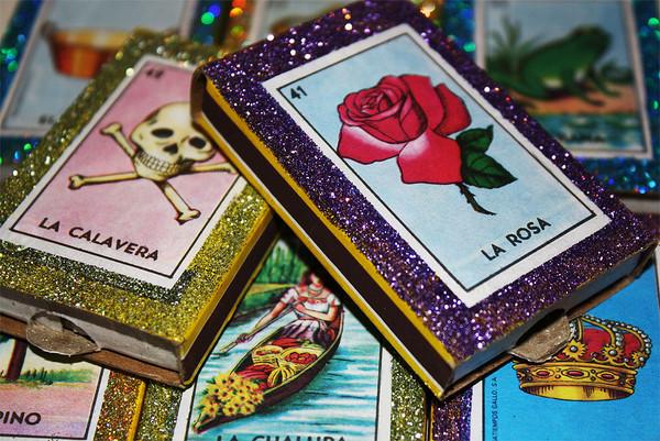 Mexican Fiesta Wedding Favors Matchboxes - Set of 50
