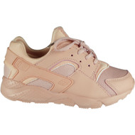 """EMMA"" Baby Pink Trainers Lace Up Comfy Shoes"