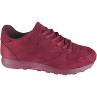 """ALDORA"" Wine Fitness Gym Light Sports Comfy Lace Up Shoes"