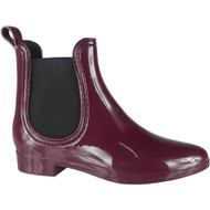 ''FABLE'' Wine Chelsea Wellington Ankle Boots