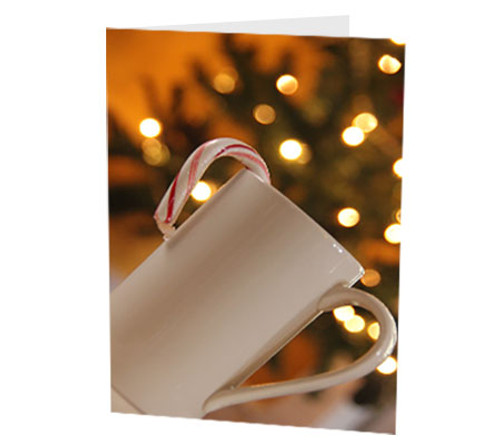 """""""Candy Cane Cup"""" Card"""