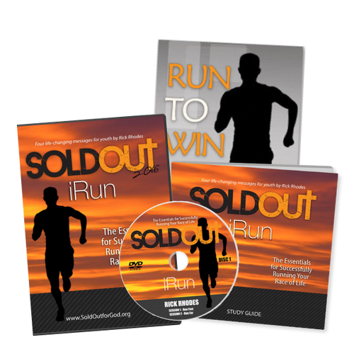 """Sold Out 2016"" DVD Series, Study guide & Run to Win book - Product Bundle"