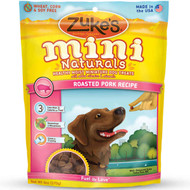 Zuke's Mini Naturals Healthy Moist Miniature Dog Treats-Roasted Pork