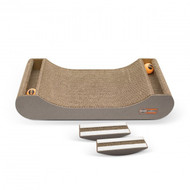 Kitty Tippy Scratch n' Track Cardboard Scratcher Interactive Cat Toy