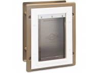 PetSafe Wall Entry Aluminum Pet Door (Medium) PPA11-10916