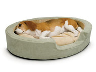 K&H Thermo-Snuggly Sleeper Heated Dog Bed