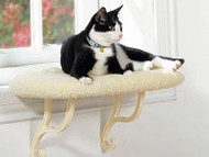 K&H Manufacturing Indoor Thermo Heated Kitty Sill Cat Bed